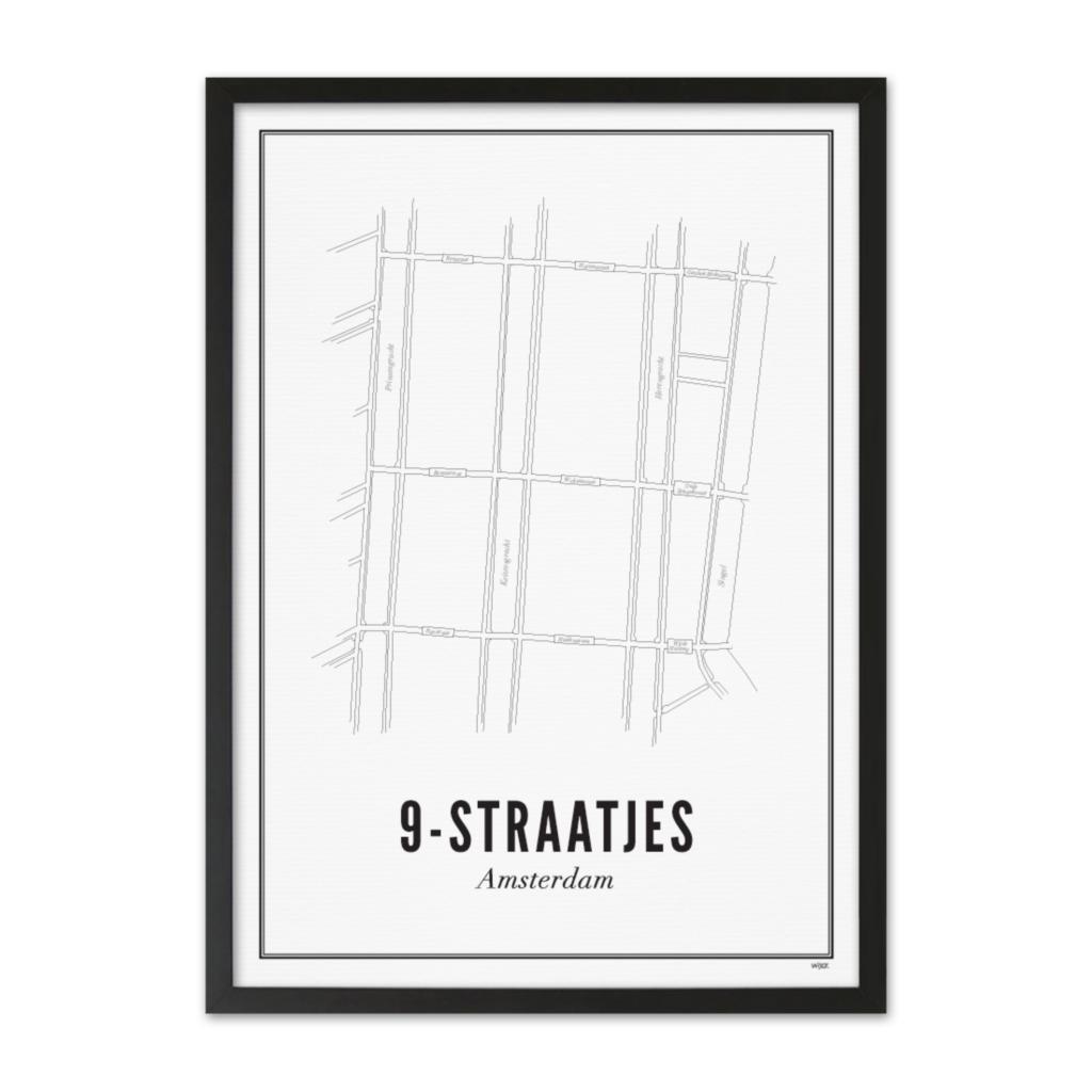 9-straatjes lijst