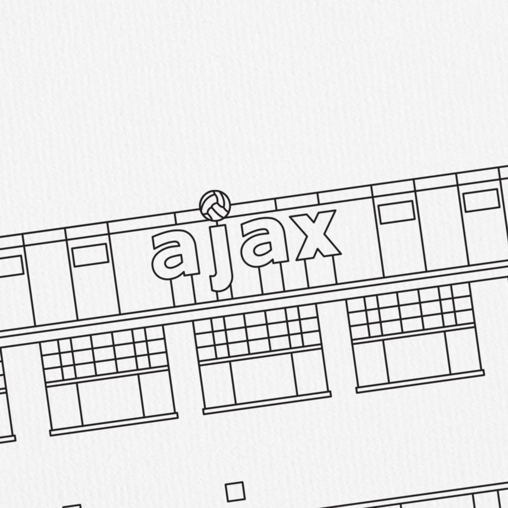 AJAX-oude-logo-de-meer
