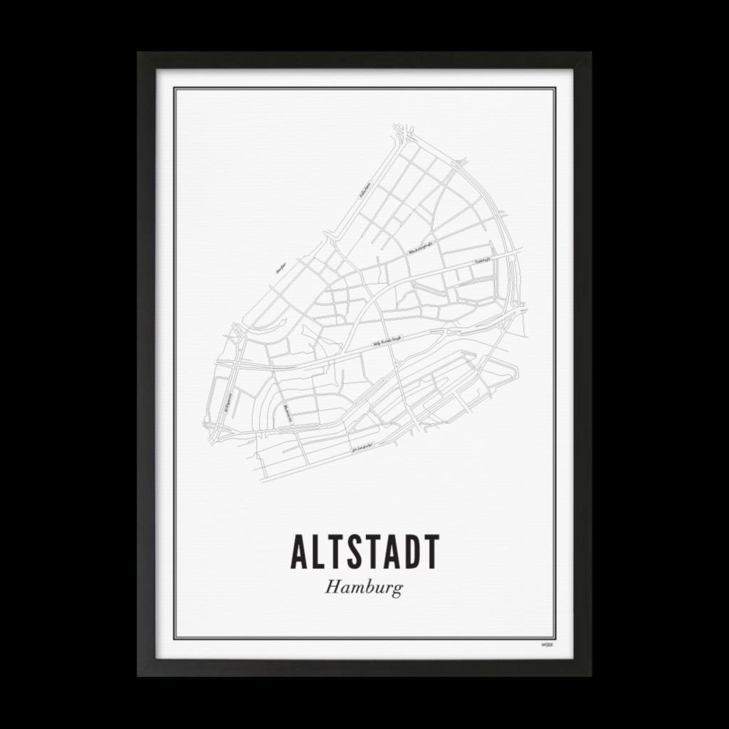 Altstadt Hamburg_Zwarte Lijst