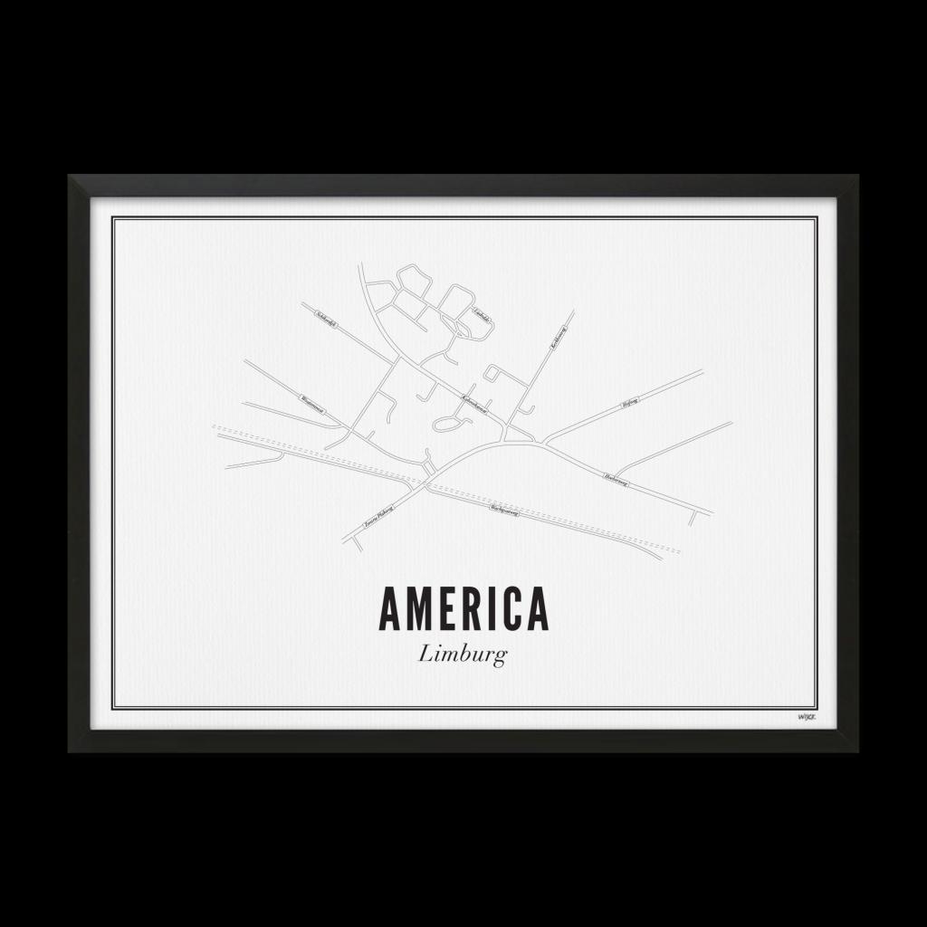AMERICA website lijst