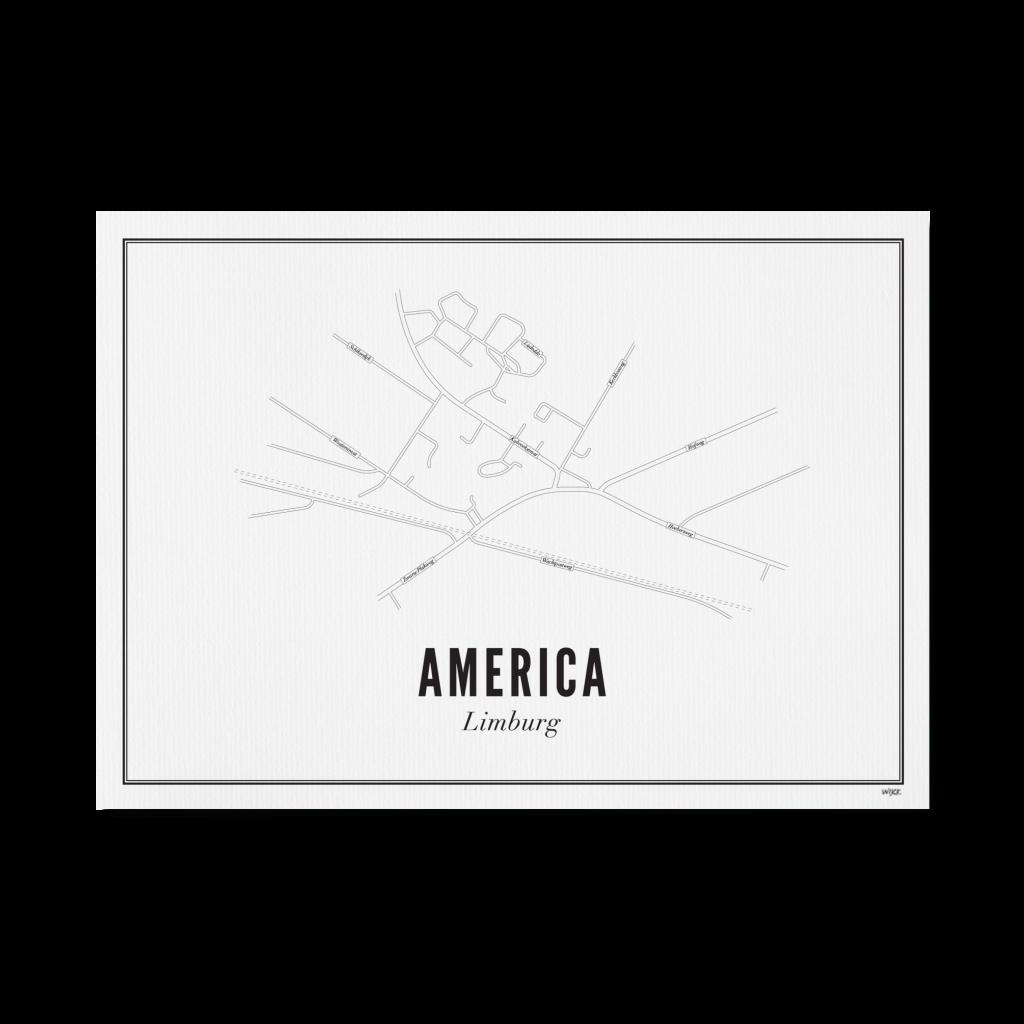 AMERICA website papier