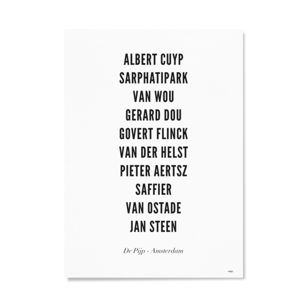 AmsterdamDePijpTYPOGRAFIEPapier