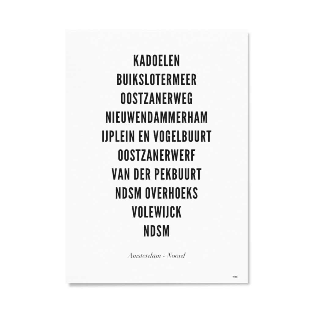AmsterdamNoordTYPOGRAFIEPapier
