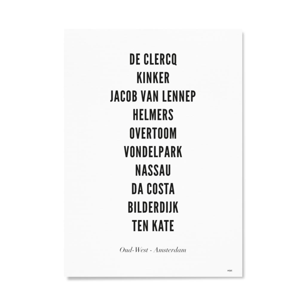 AmsterdamOudWestTYPOGRAFIEPapier