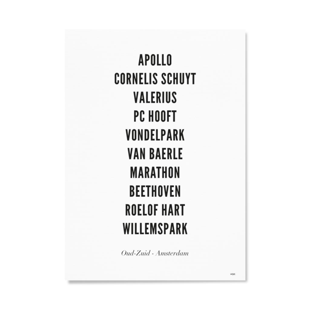 AmsterdamOudZuidTYPOGRAFIEPapier
