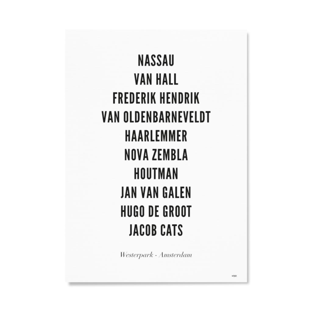 AmsterdamWesterparkTYPOGRAFIEPapier