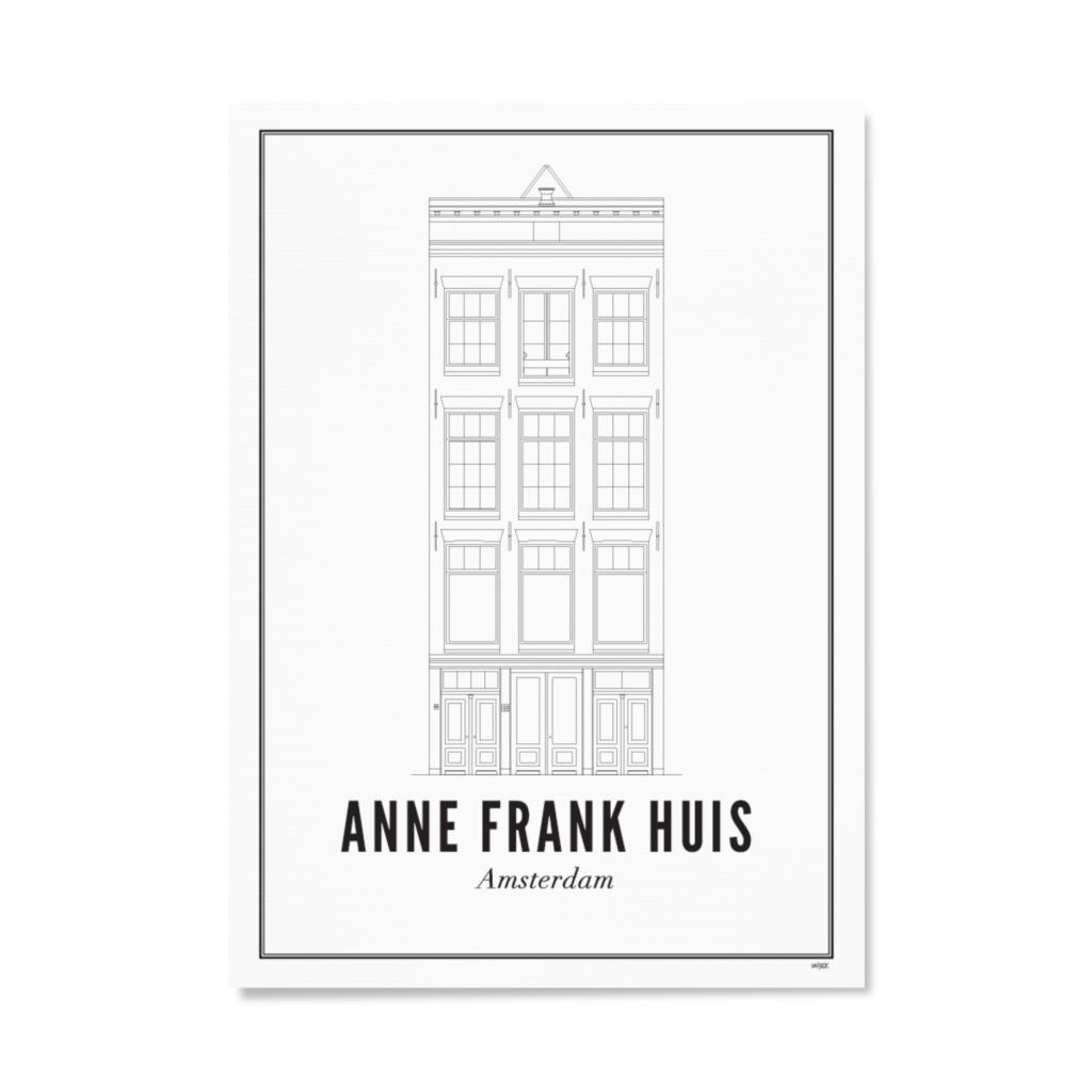 anne frank huis papier