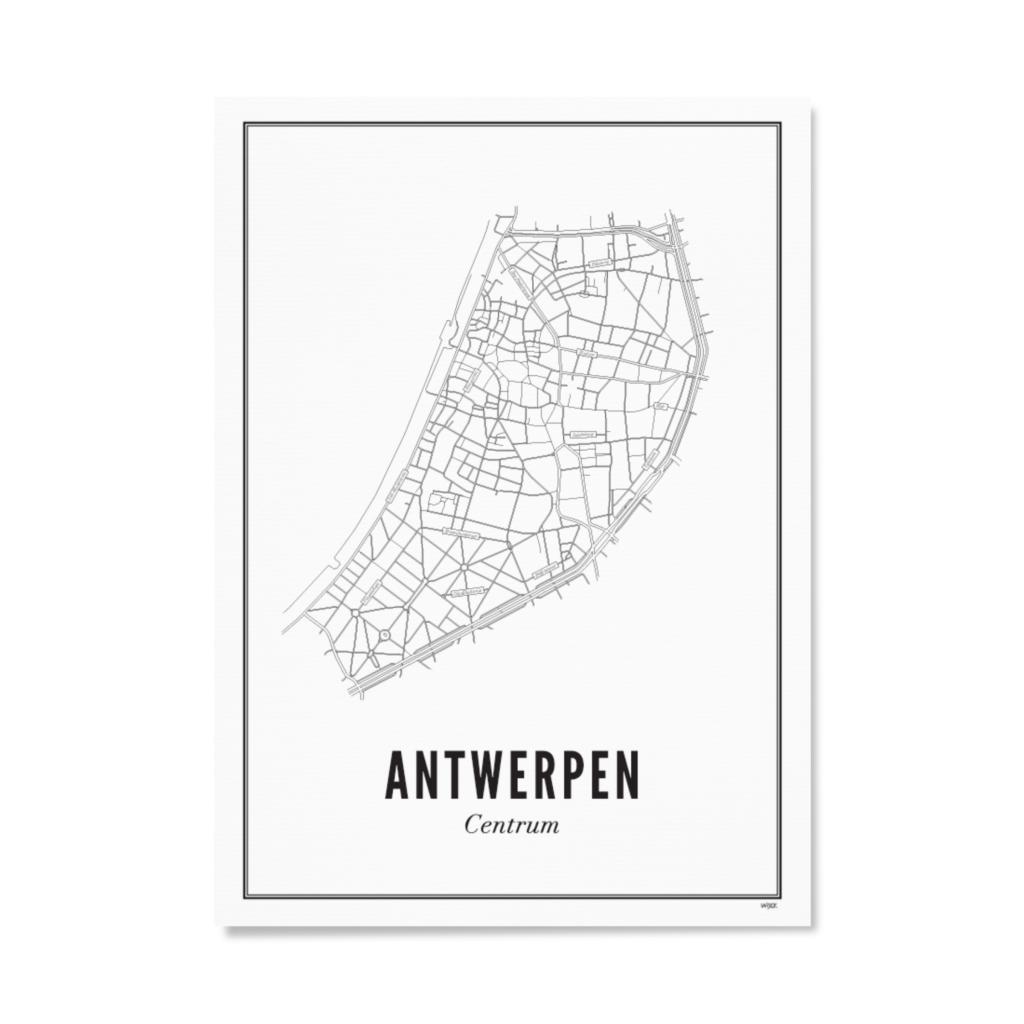 Antwerpen - centrum - papier