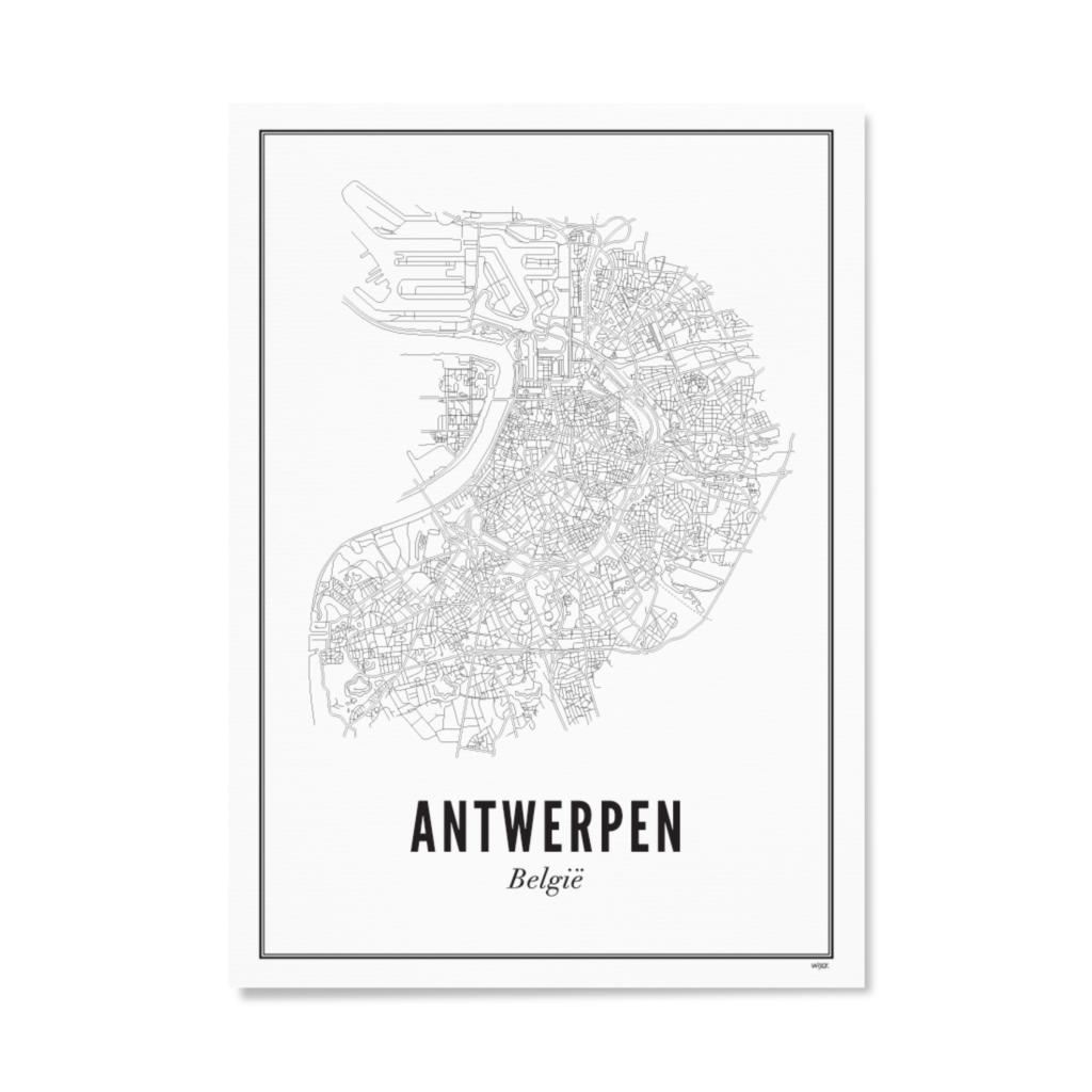 Antwerpen - stad - papier