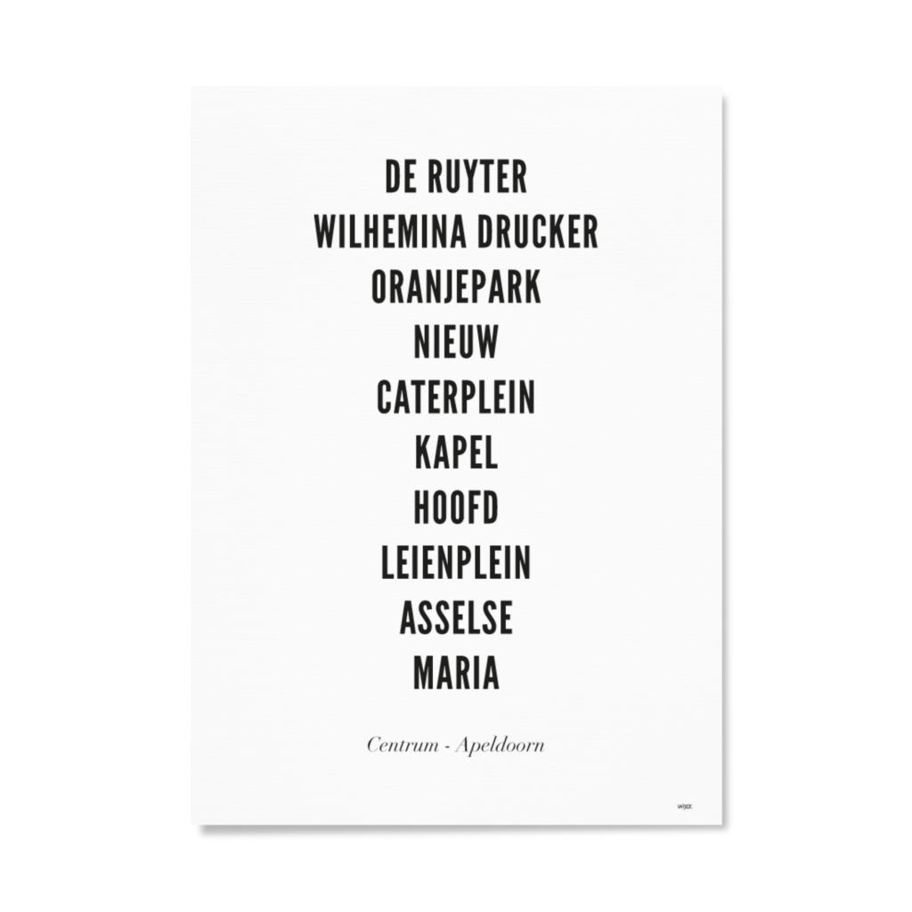 ApeldoornCentrumTYPOGRAFIEPapier
