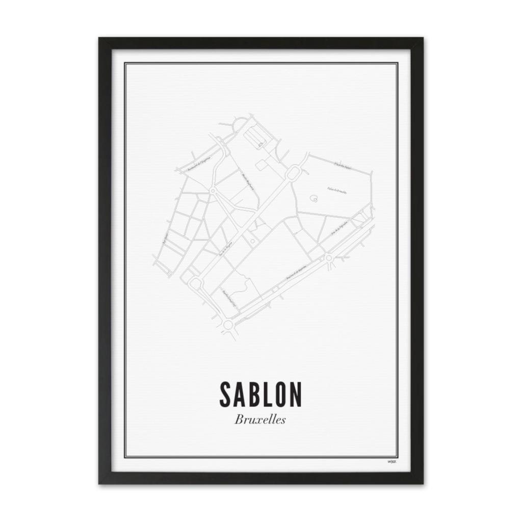 Belgie_Sablon_zwart