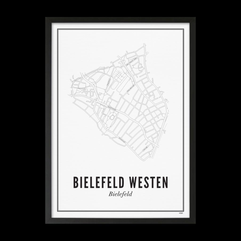 Bielefeld Westen_Zwart