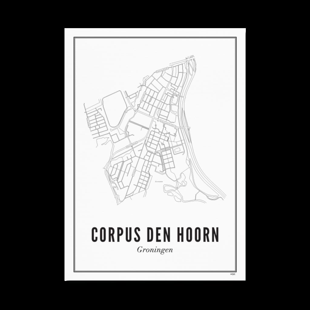 corpus den hoorn papier