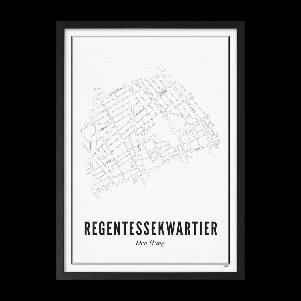 Den Haag_Regentessekwartier_Lijst ZWART