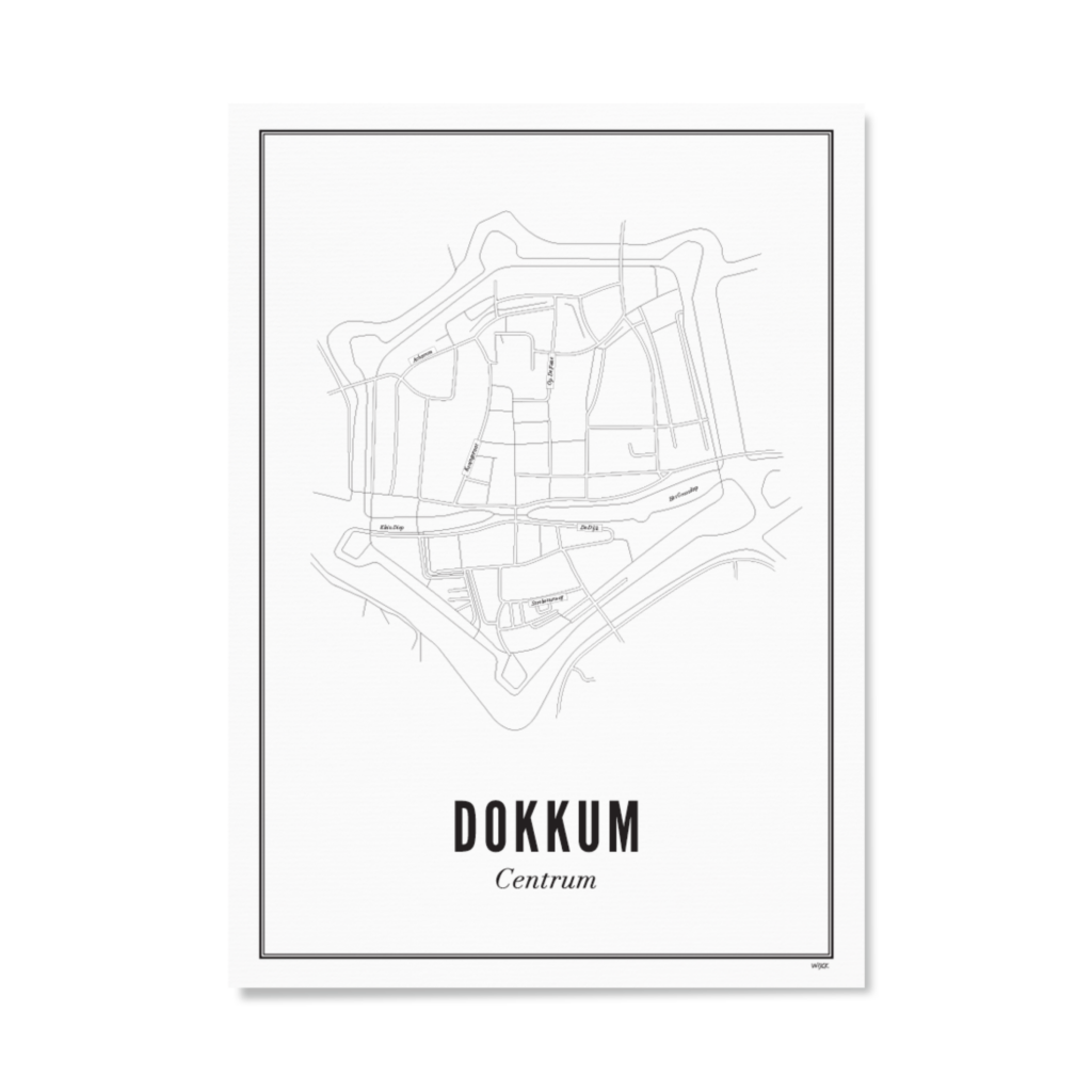 Dokkum_centrum_papier