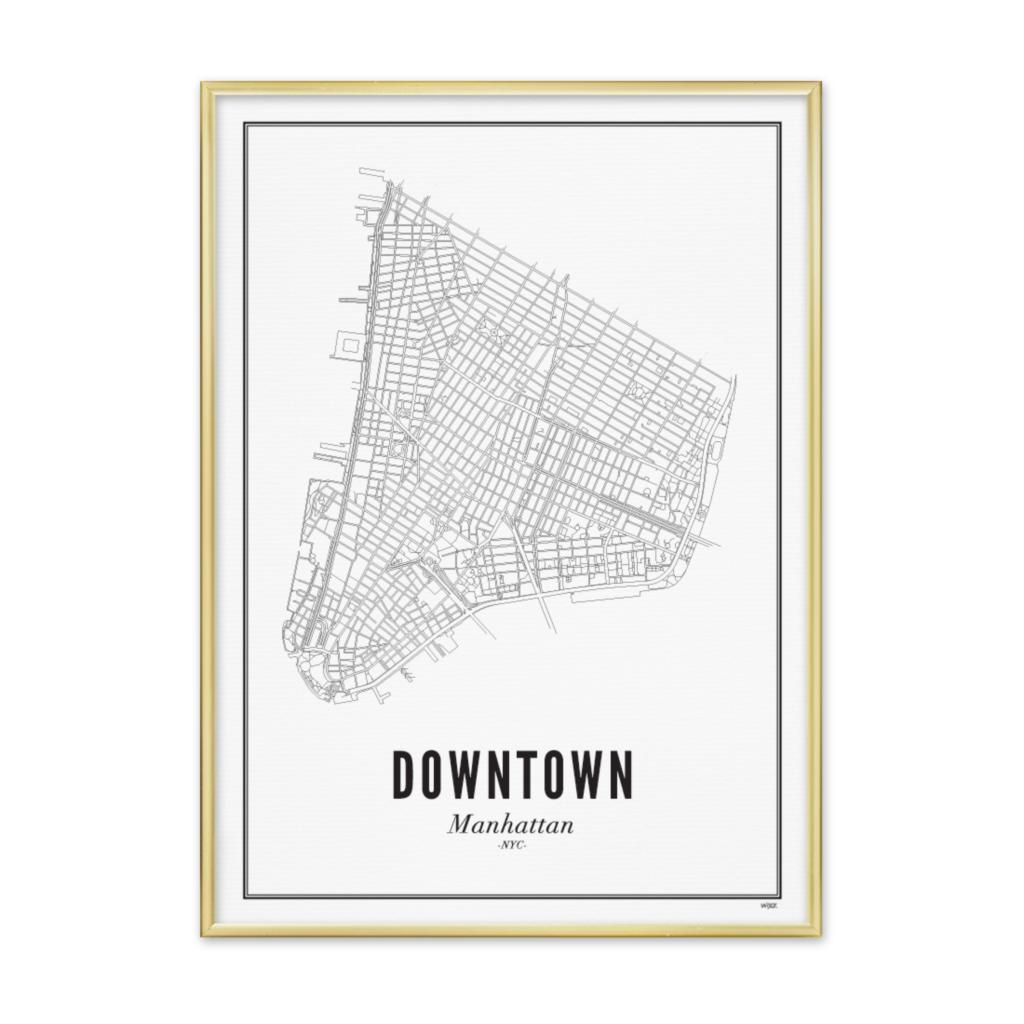 Downtown_gouden lijst
