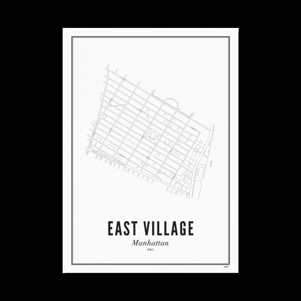East Village_Papier