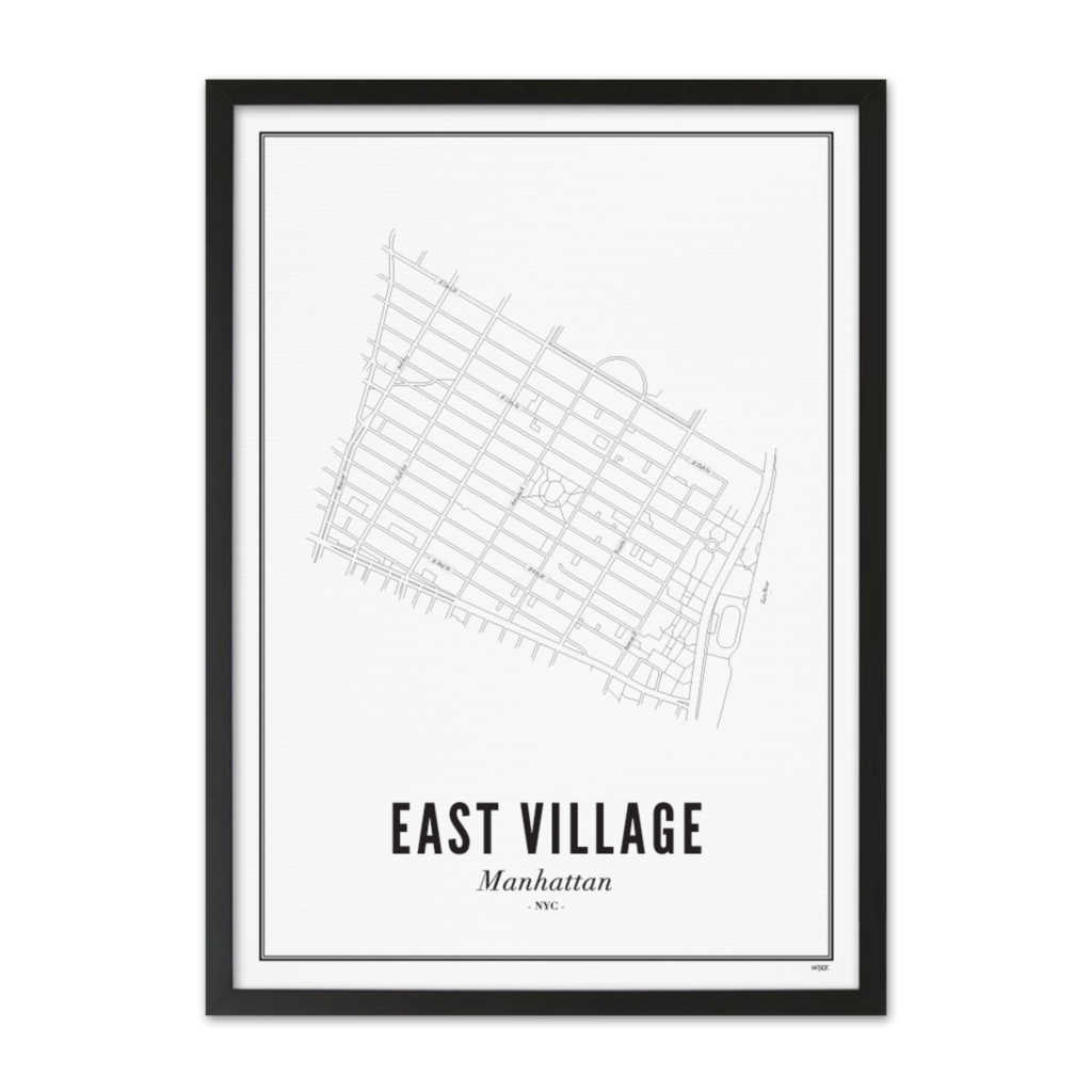 East Village_Zwart