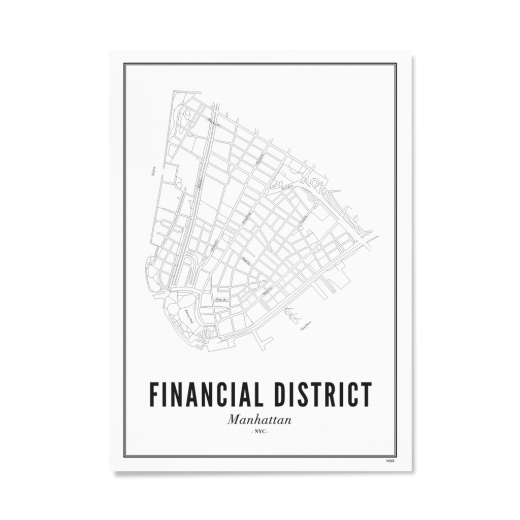 Finacial District-Papier