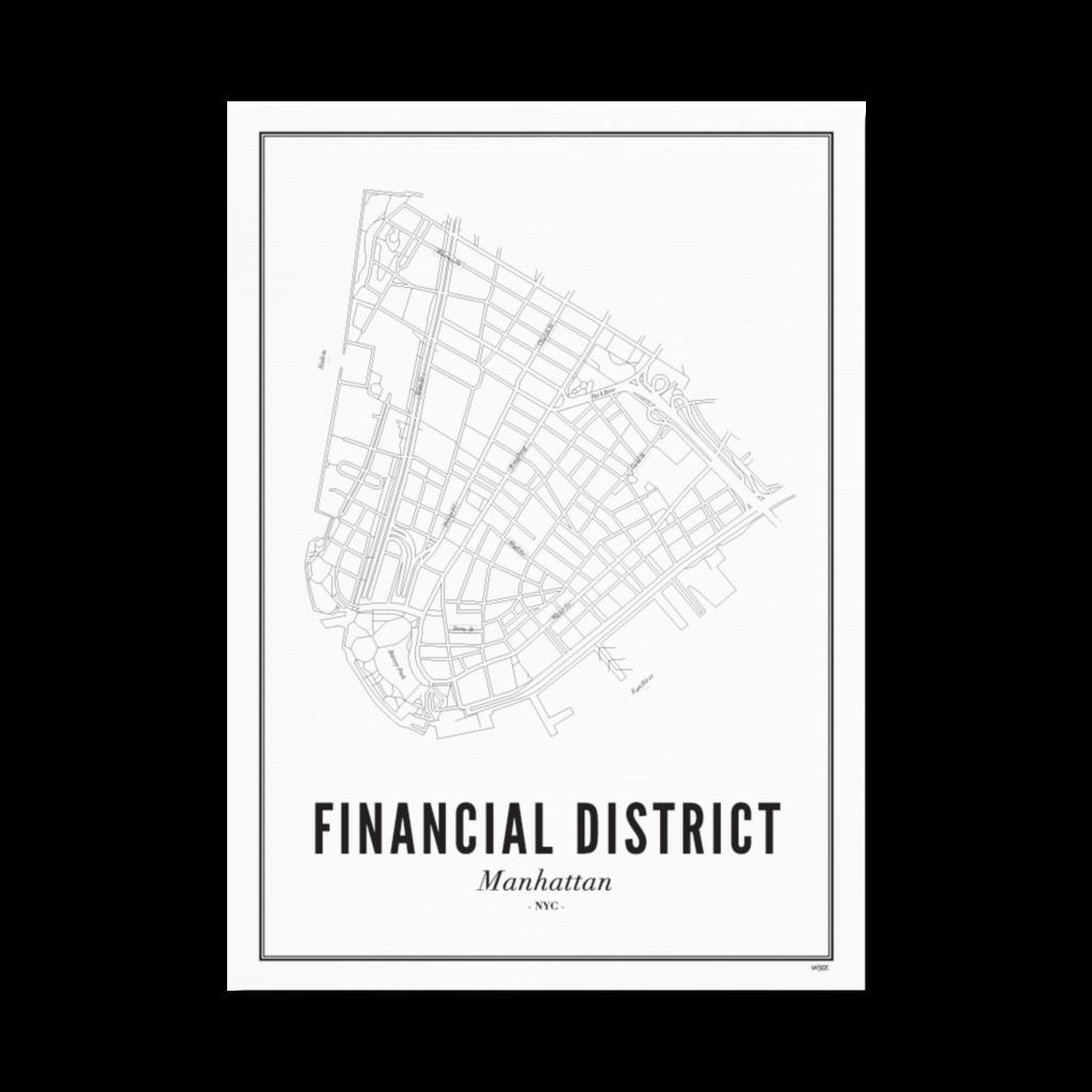 Finacial District-Papier