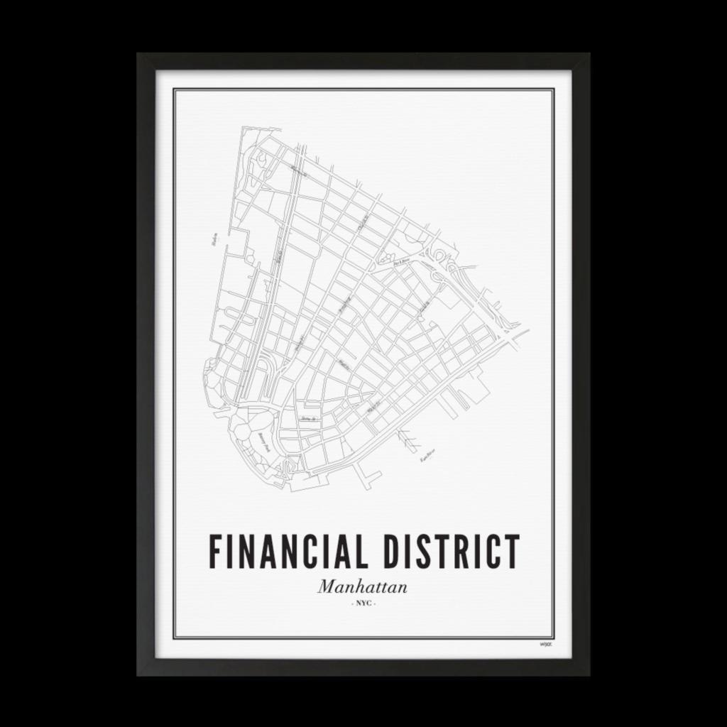 Finacial District-zwart