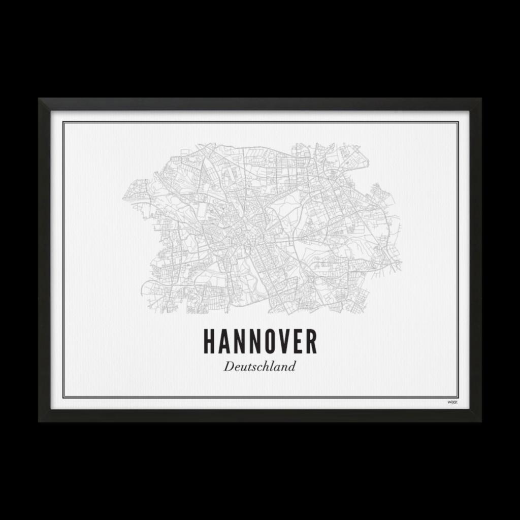 Hannover.zwart lijst