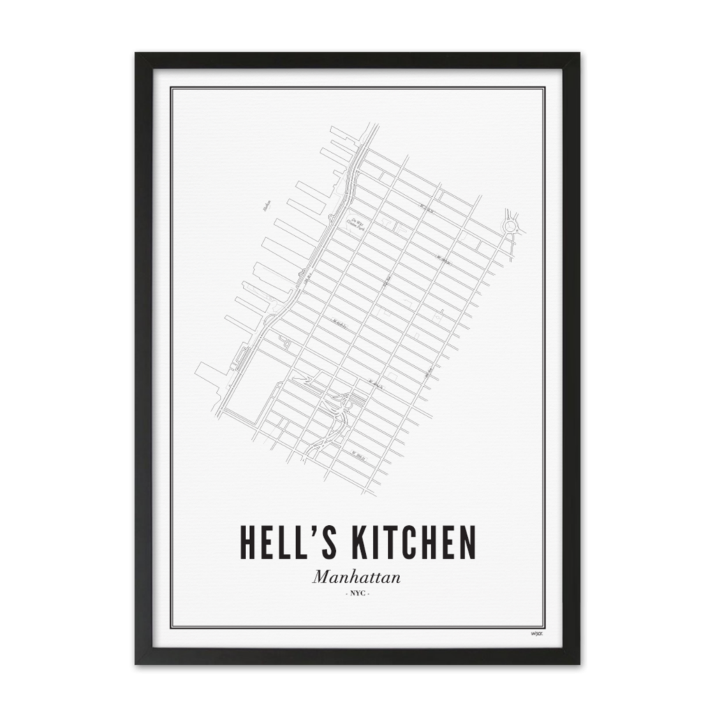 Hell's Kitchen Zwart