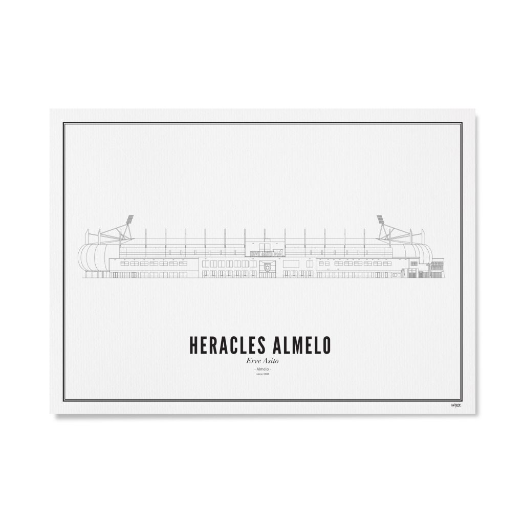 Heracles stadion papier