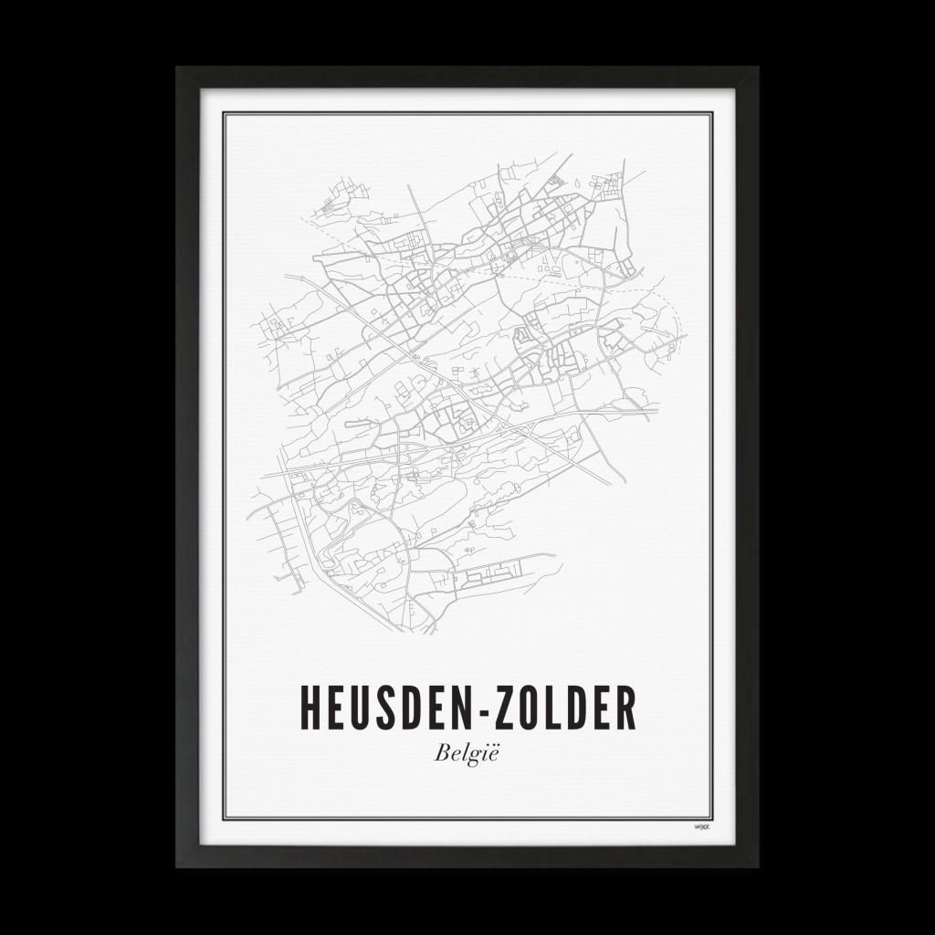 Heusden - zolder_ Lijst ZWART