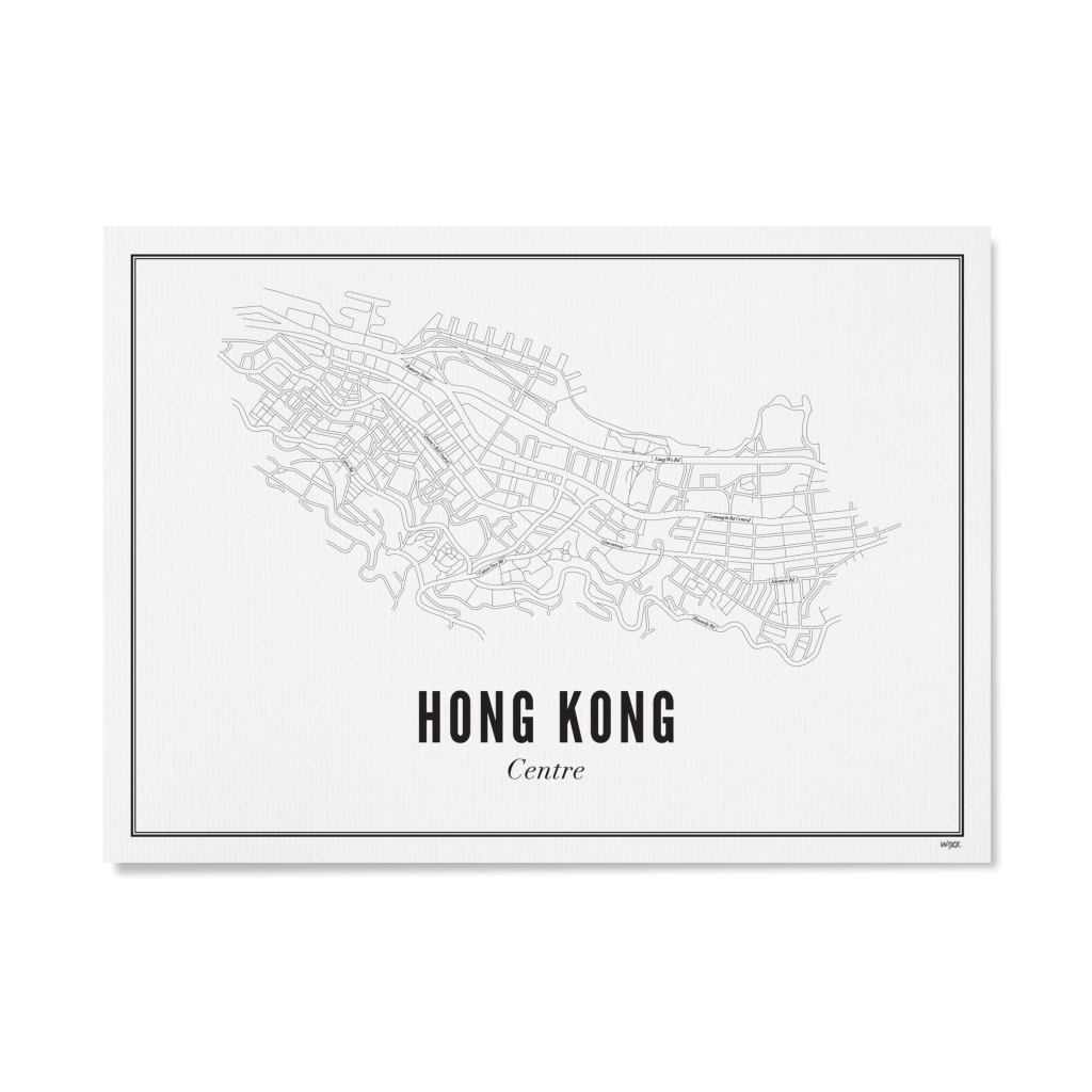 HK WIT PAPIER LIGGEND