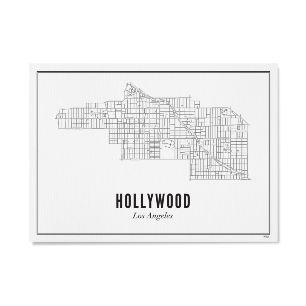 Hollywood papier