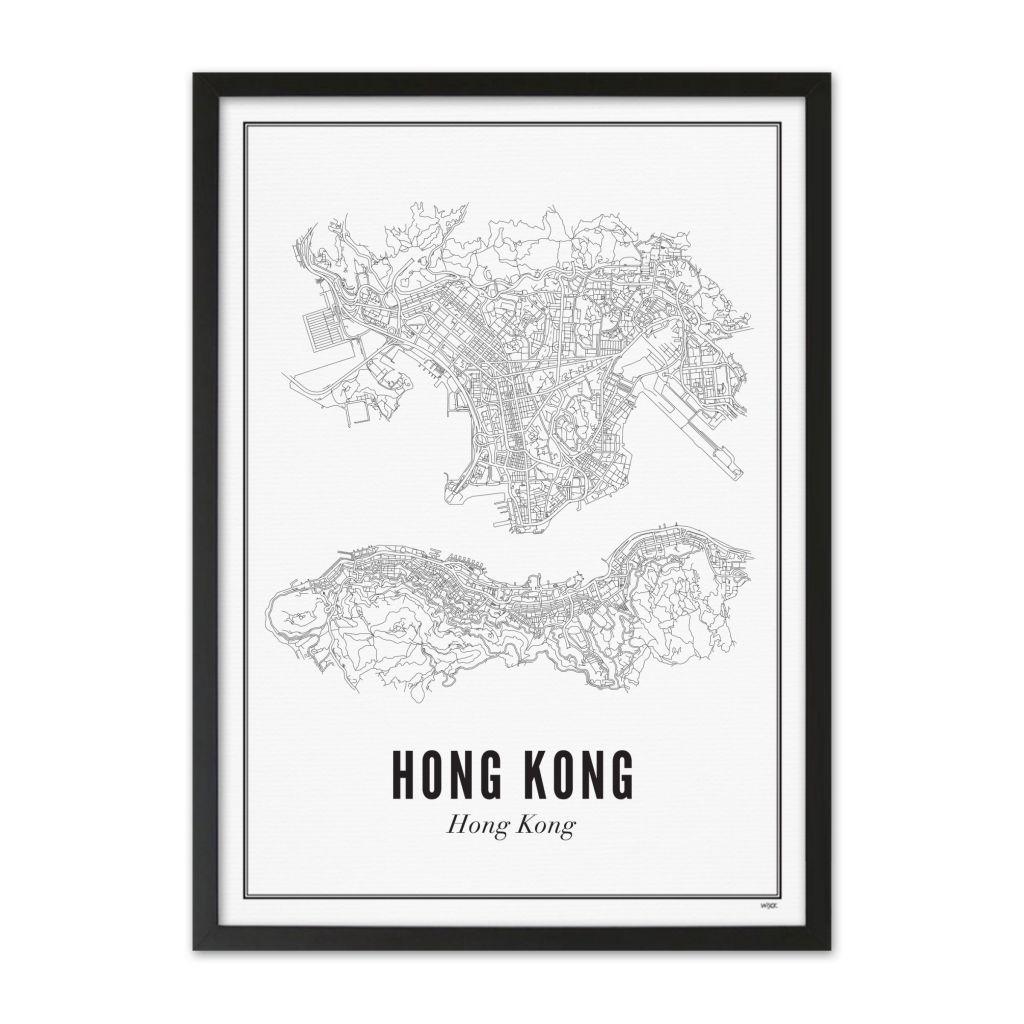 HongKong_Stad_lijst_zwart