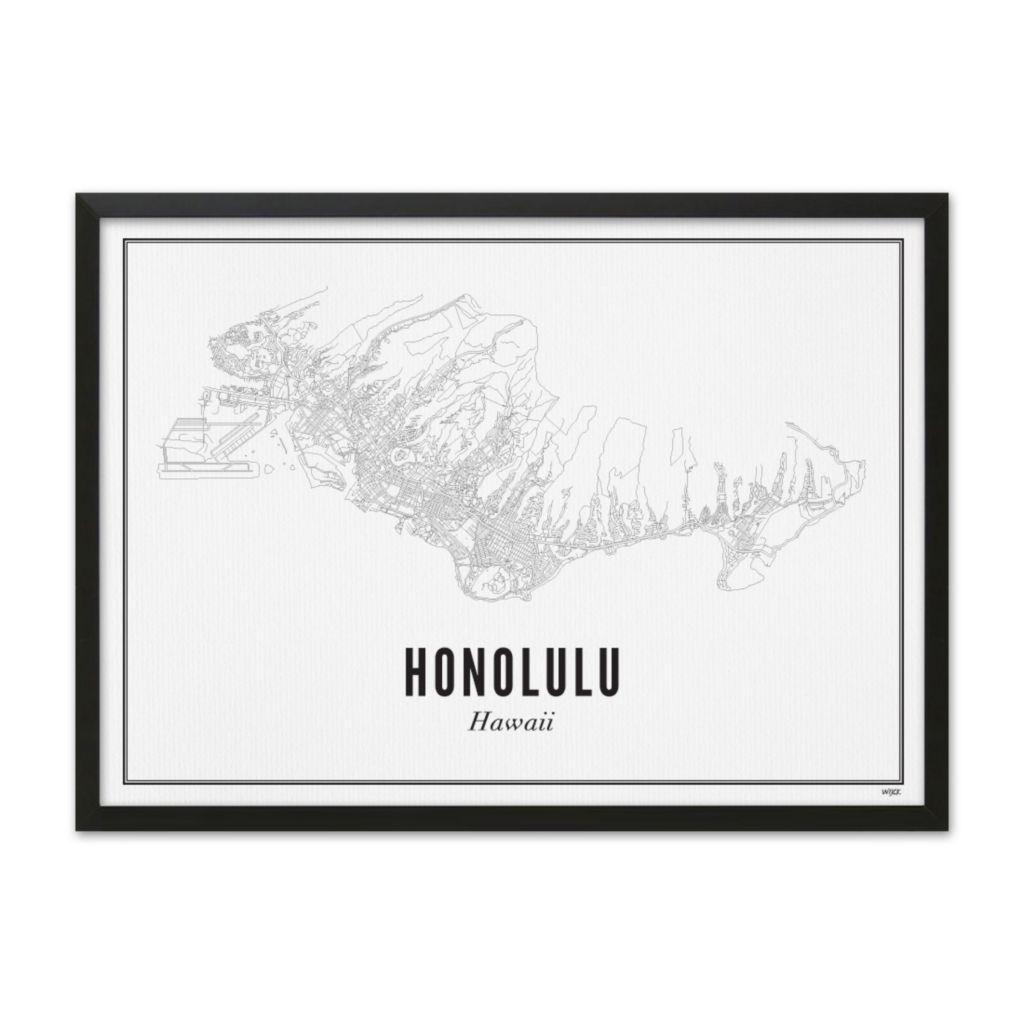 Honolulu_lijst_zwart