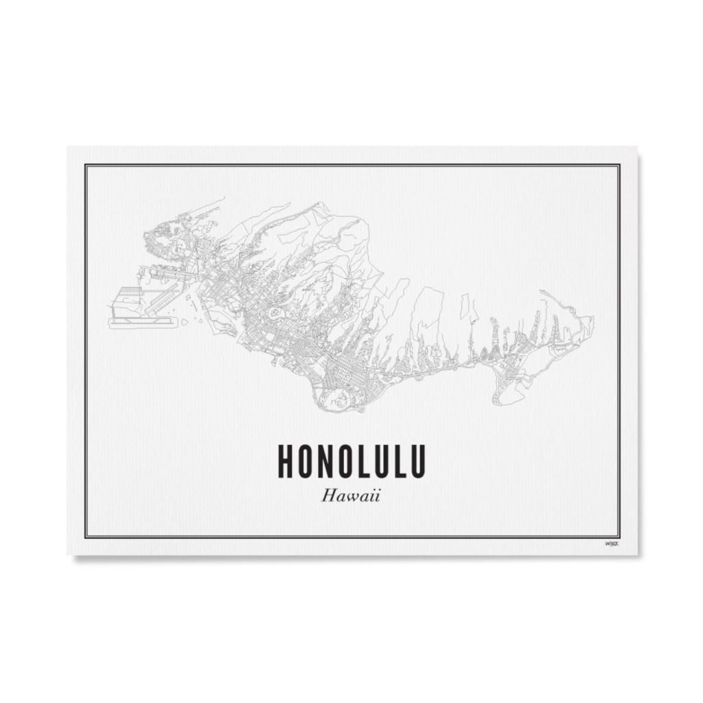 Honolulu_papier