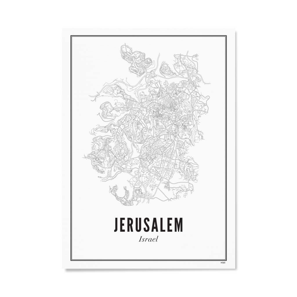 Jerusalem Wit Papier