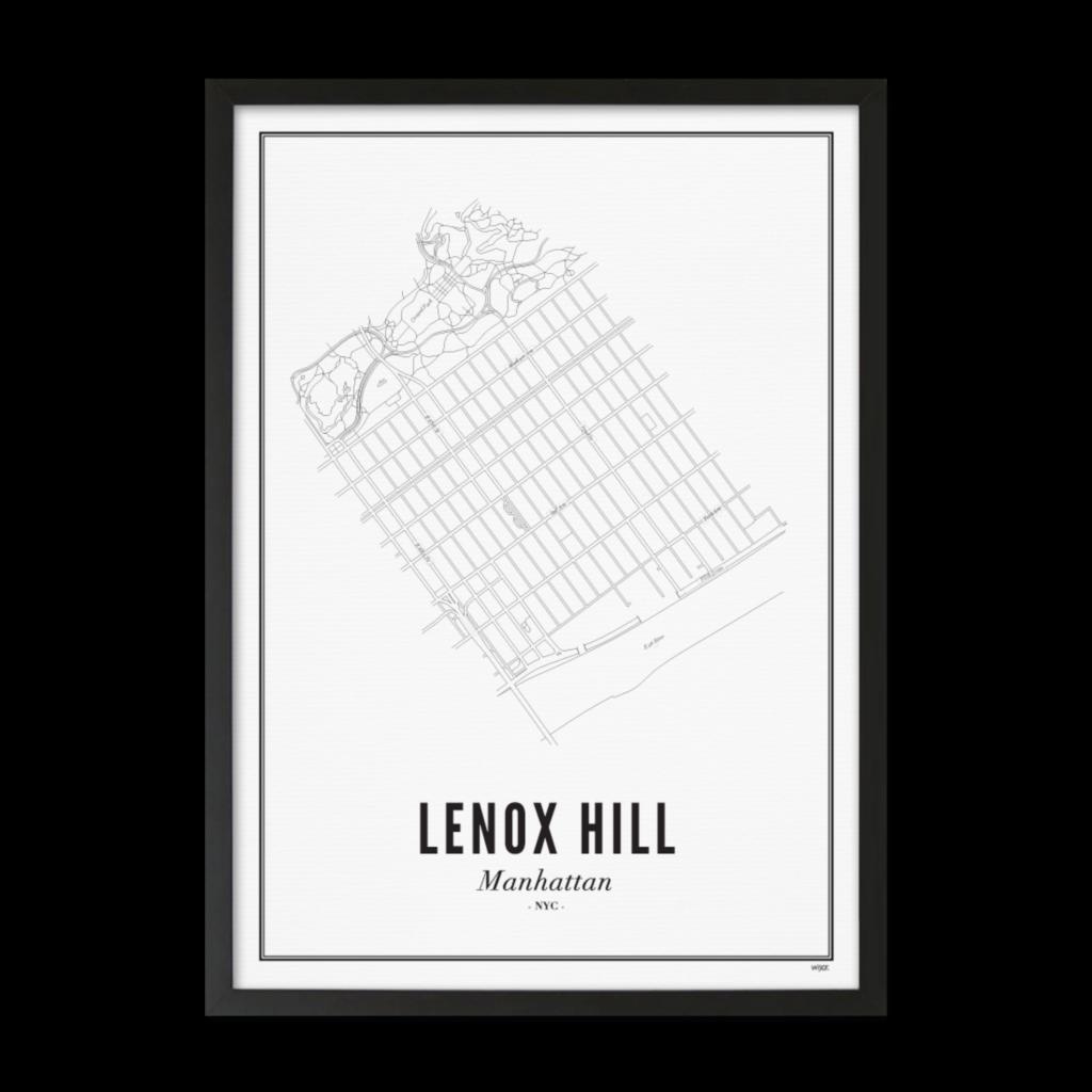 Lenox Hill_Zwart