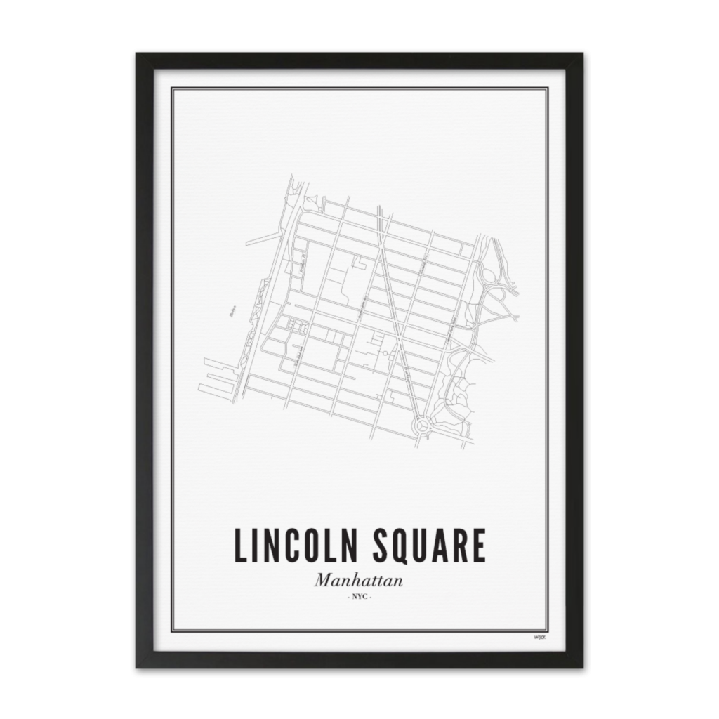 Lincoln Square_Zwart