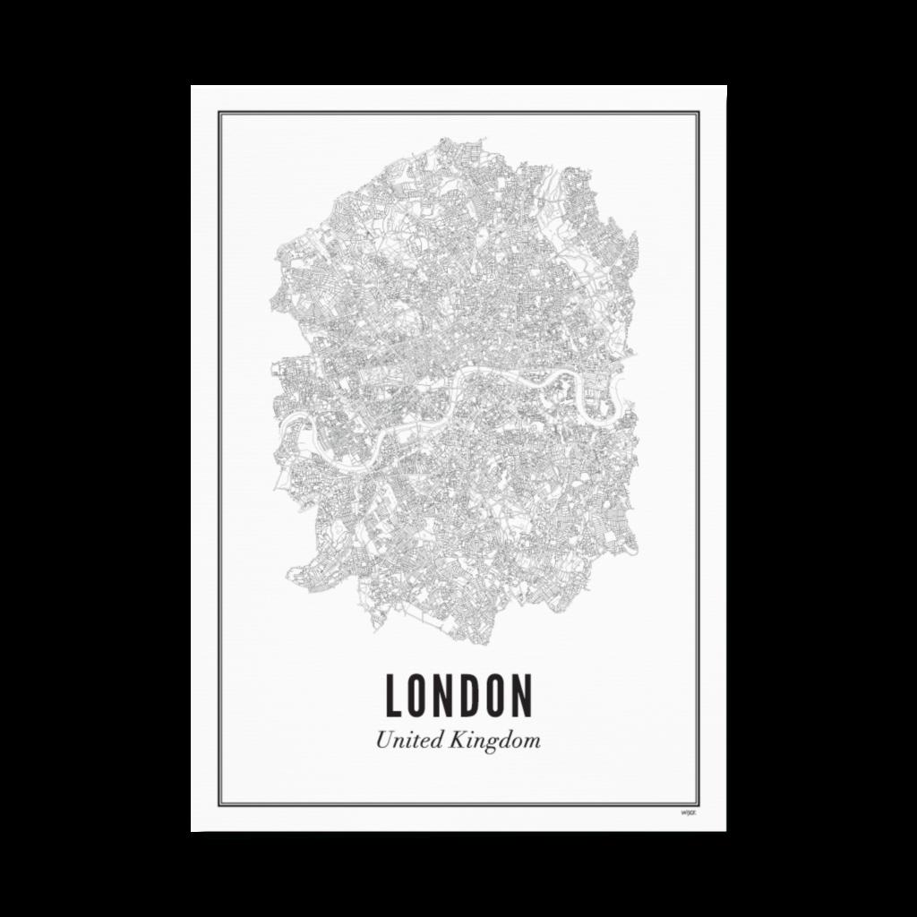 Londen stad_papier