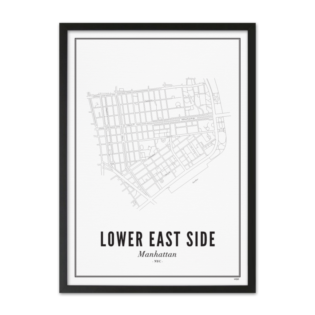 Lower East Side_Zwart