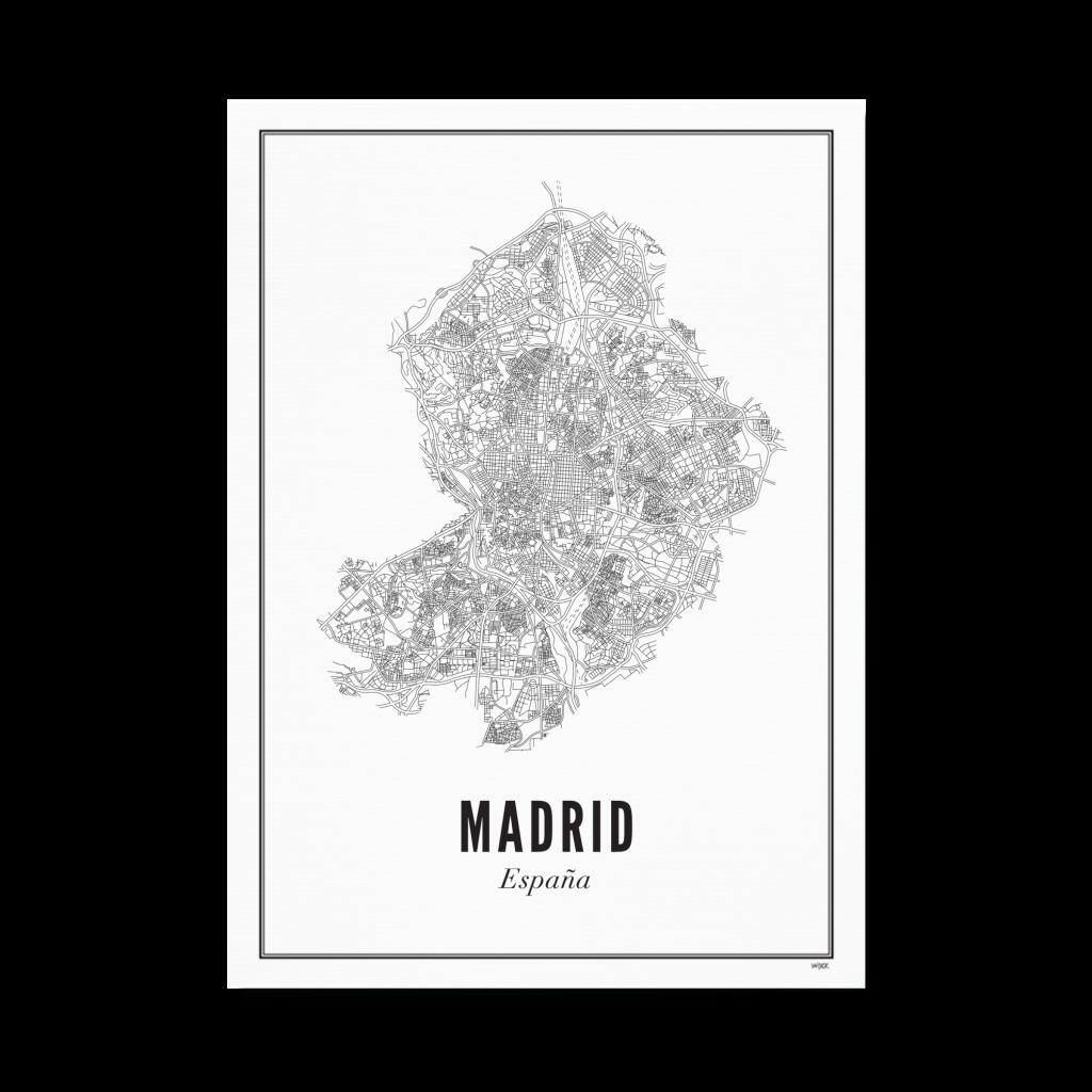 MADRID_staand papier goed
