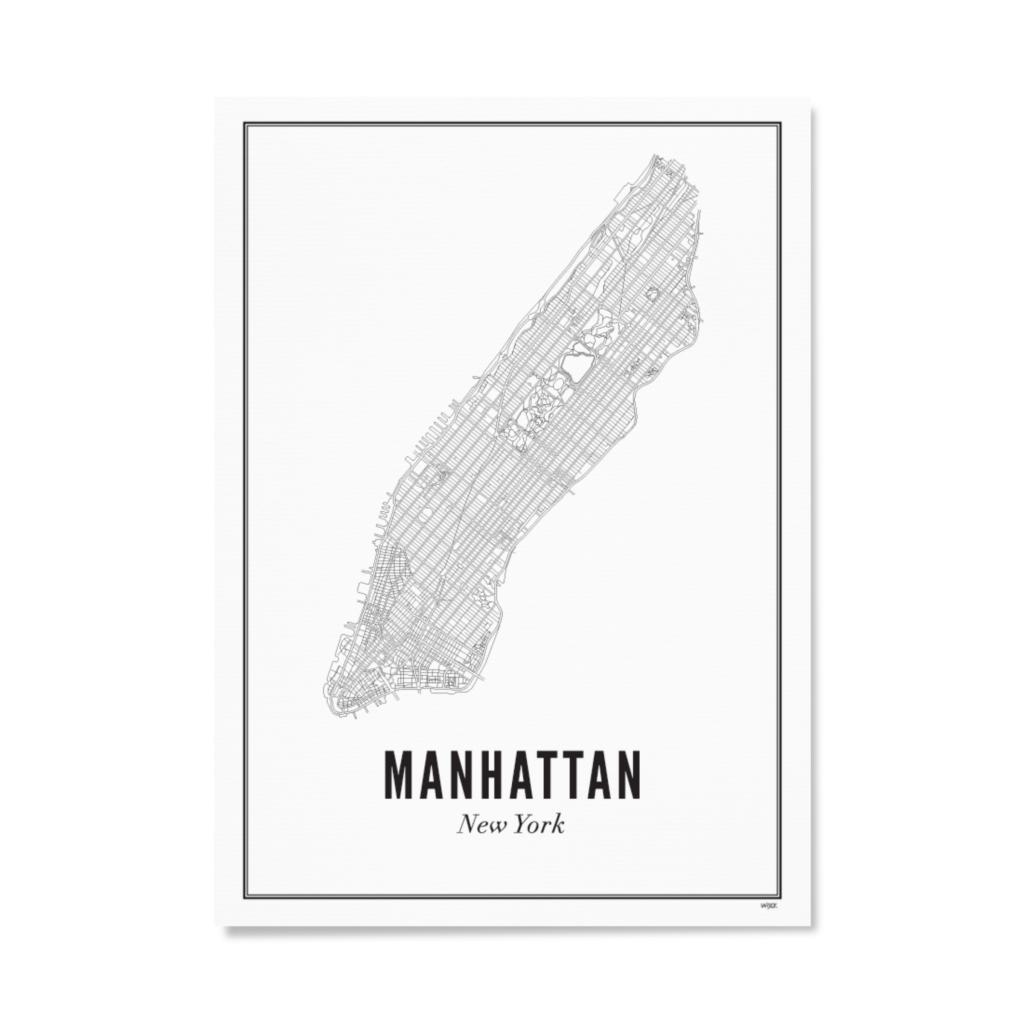 Manhattan papier