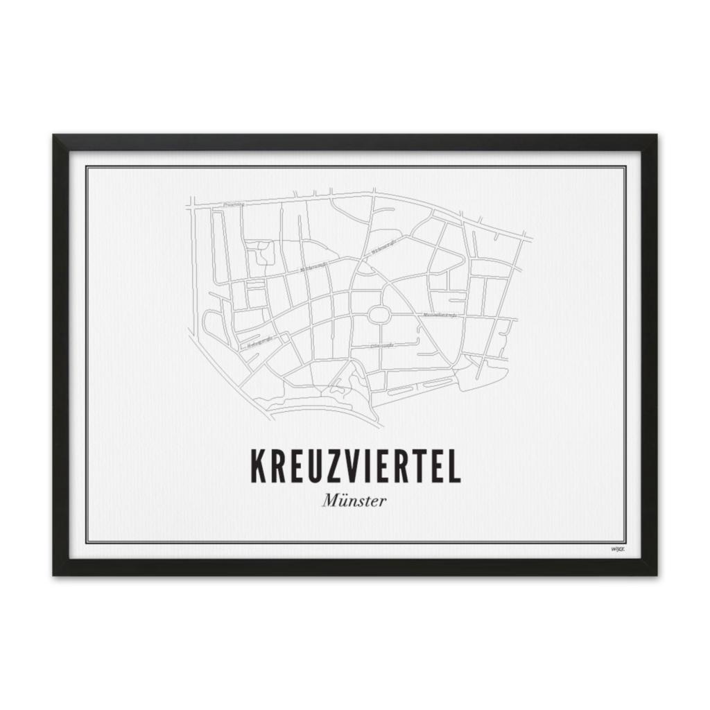Münster-Kreuzviertel-Zwart