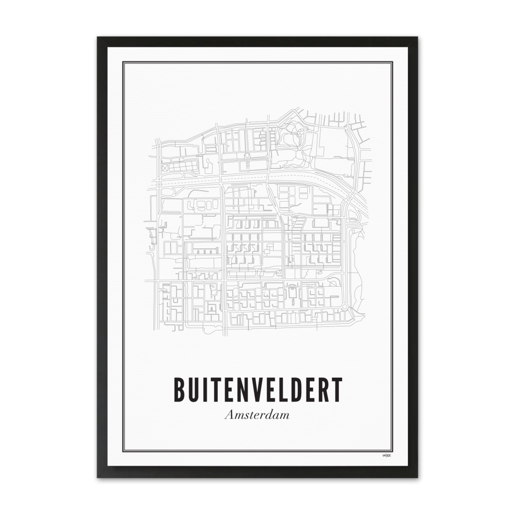 Nederland_amsterdam_buitenveldert_ ZWART