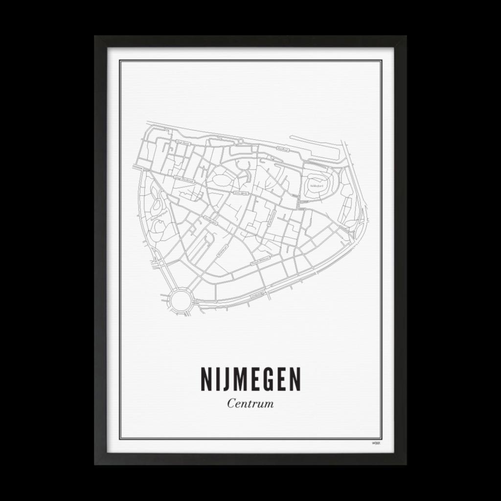 Nijmegen centrum lijst