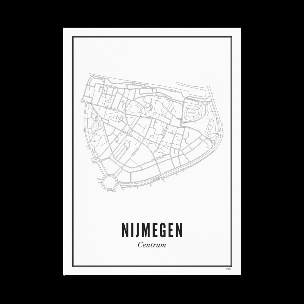 Nijmegen centrum papier