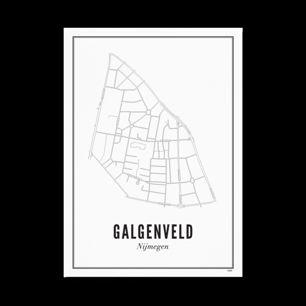 Nijmegen galgenveld papier