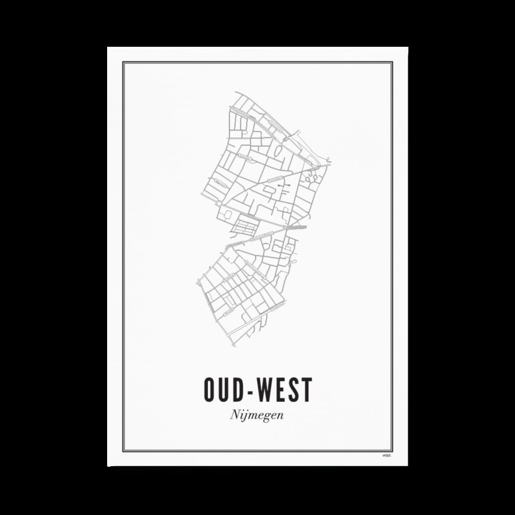 Nijmegen oud-west papier