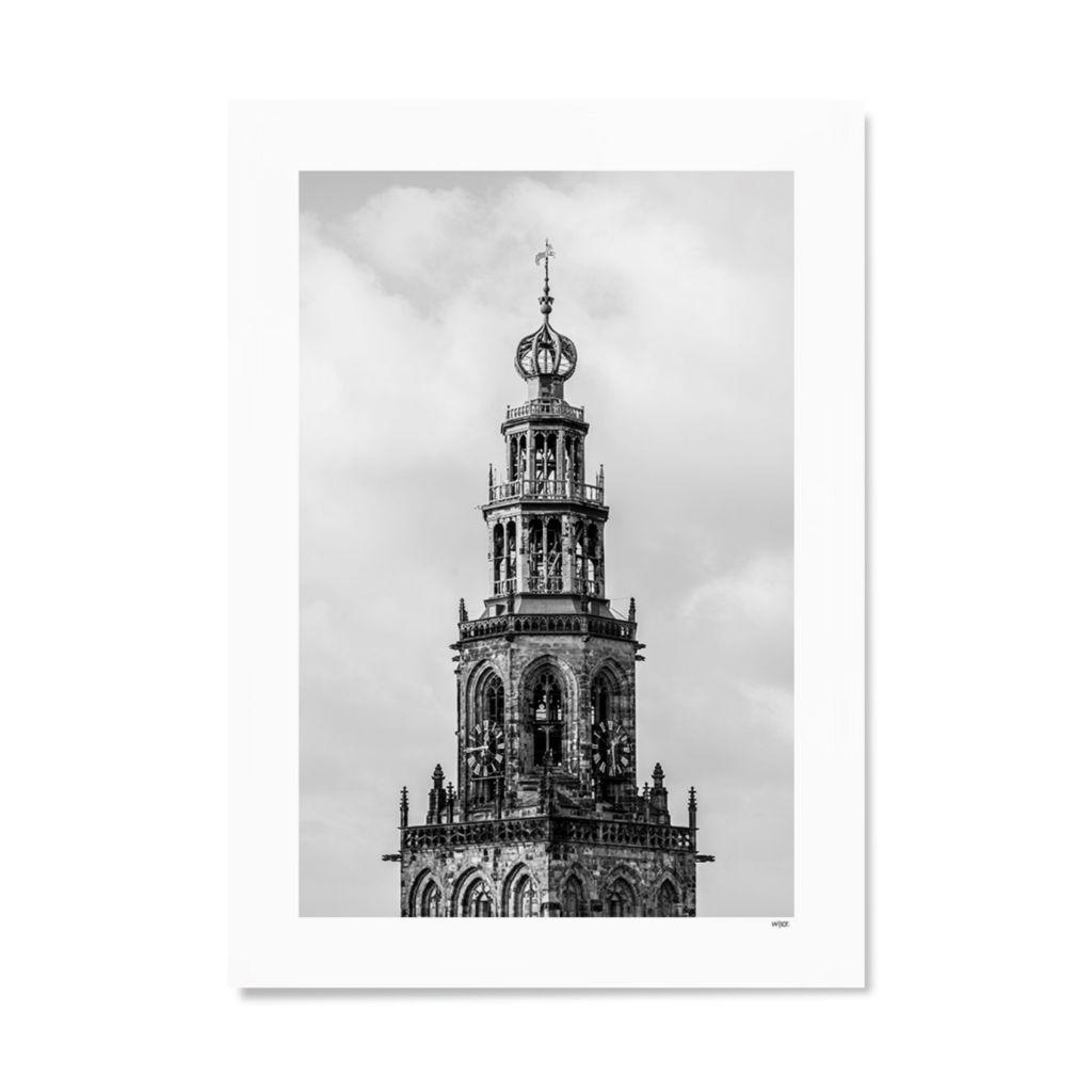 NL_Groningen_Martinitoren_Papier