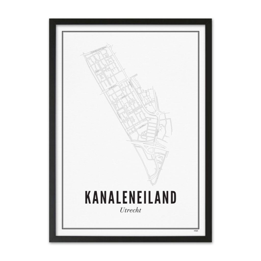 NL_UTR_Kanaleneiland_Zwart_Lijst