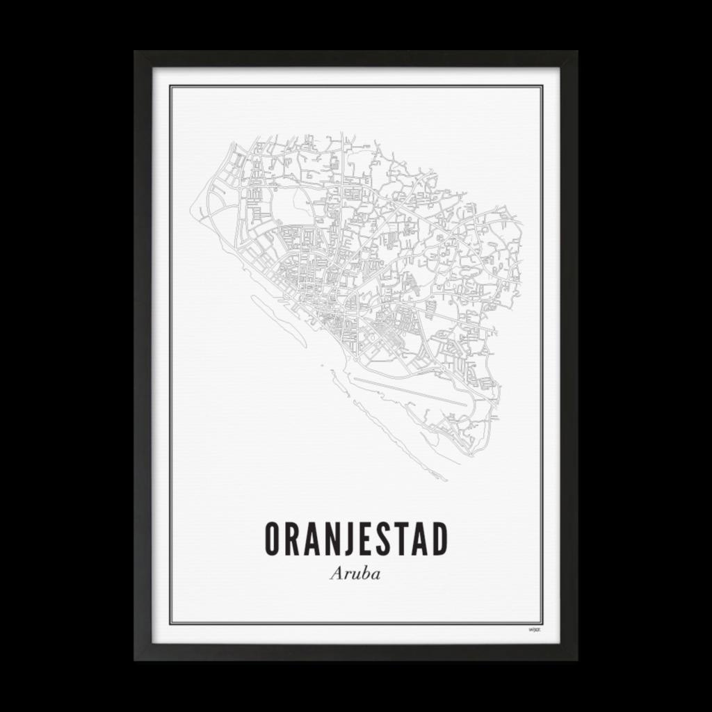 Oranjestad_zwart